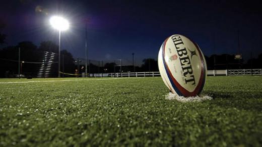 Balón de rugby.