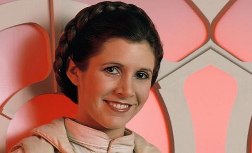 Carrie Fisher, en una imagen retrospectiva.