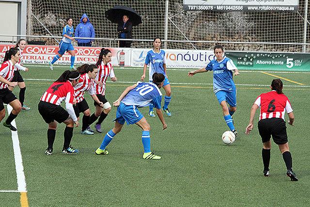 Acción de un partido del Sporting de Mahón (Foto: deportesmenorca.com)