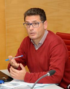 El director insular de Serveis Generals, Gabriel Pons, explicó pormenorizadamente los detalles de las cuentas para el año próximo.
