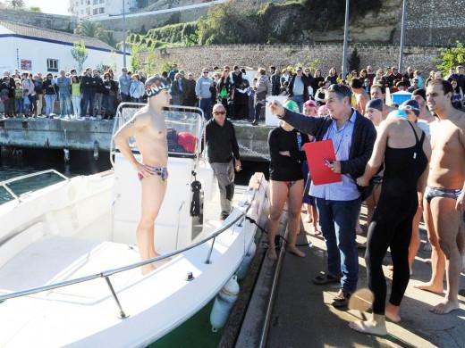 (Fotos) Joshua Torres y Júlia Rita se imponen en la travesía al puerto de Maó