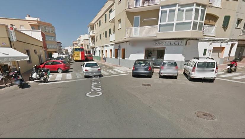 Imagen en Google Maps de una zona cercana al lugar de los hechos.