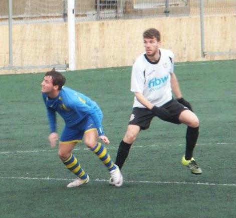 Carlos Febrer en acción.