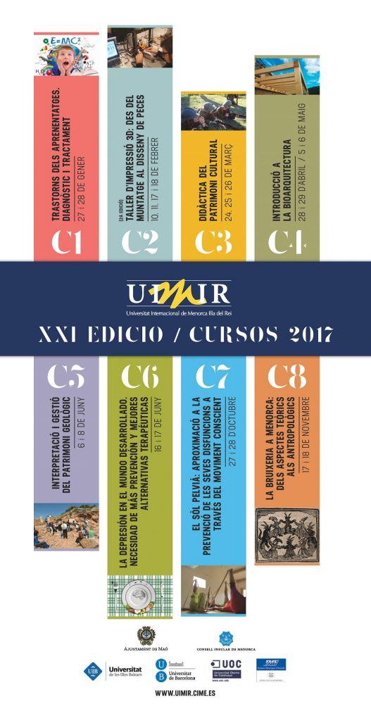 Cartel oficial de la edición 2017 de la UIMIR.
