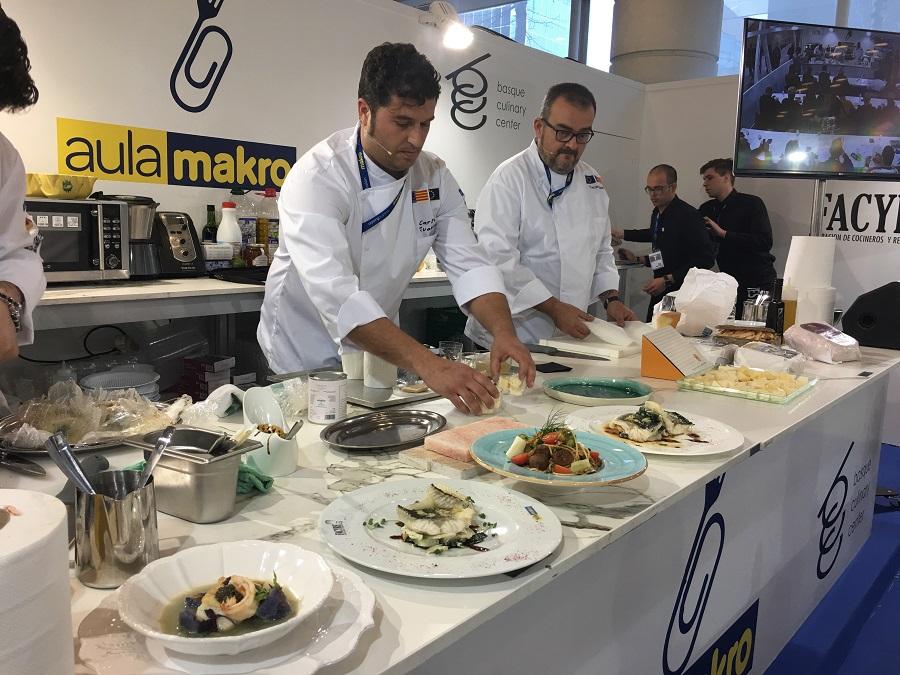 Los chefs utilizaron productos locales.