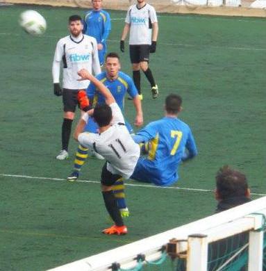 (Fotos) Un gol en el primer minuto derriba al Penya Ciutadella en Inca