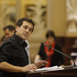 Nel Martí, portavoz de Més per Menorca.