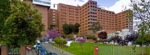Imagen del hospital de la Vall d'Hebrón de Barcelona.