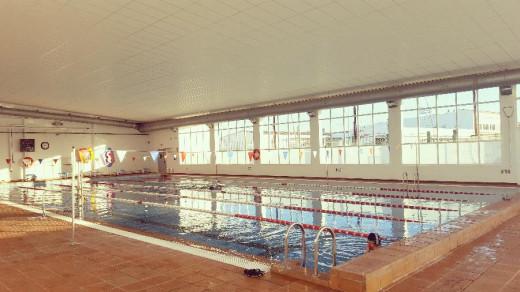 Imagen actual de la piscina de Maó (Foto: Ajuntament de Maó)