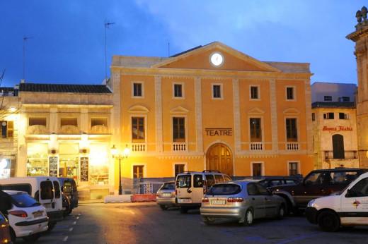 Imagen de archivo de la fachada del Teatre des Born.