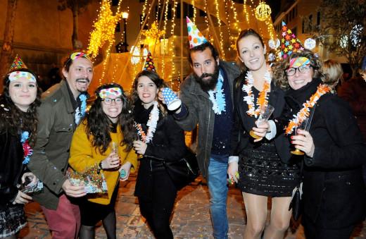 Imagen de archivo de las campanadas de fin de año en Maó.