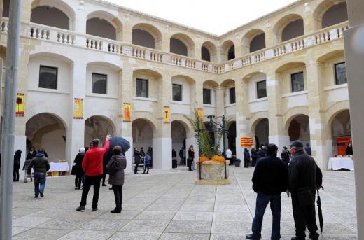 La remodelación de este emblemático edificio de Alaior lo convierte es un excelente escenario cultural (Foto: Tolo Mercadal)