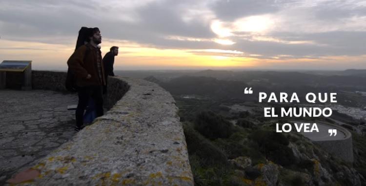 El dueto ha visitado diferentes emplazamiento de Menorca.