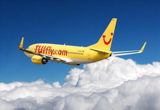 Un Boeing operado por TuiFly.