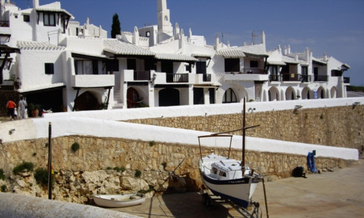 Imagen del complejo de Binibeca.