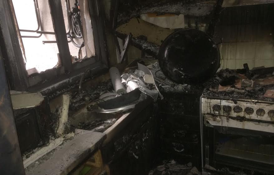 Otra imagen de la cocina.