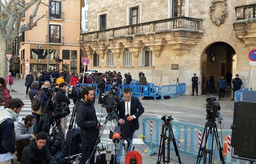 Muchos medios de todo el planeta se han citado en Mallorca.