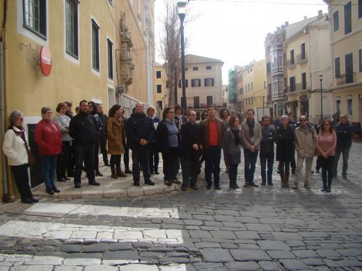 Los representantes de los grupos políticos han mostrado su rechazo a la violencia de género.