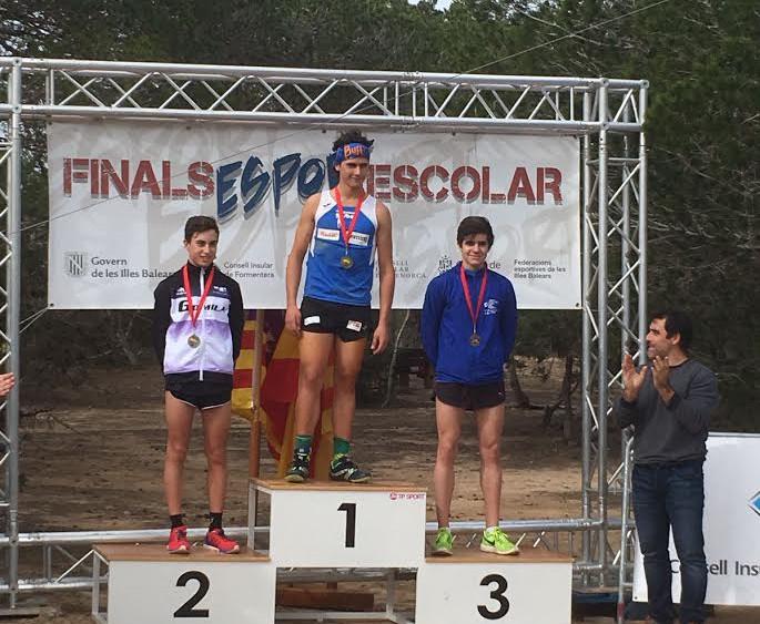 Pons, en el podio.