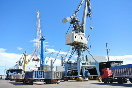 Puertos sin trabajadores