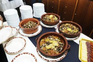 Algunos de los platos.