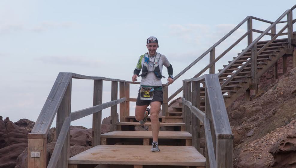 Imagen del descenso a la arena.