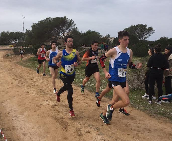Xavier Torras y Sebastià Pons, en pleno esfuerzo.