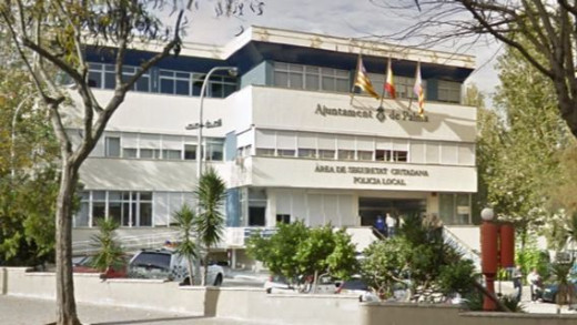 Fachada del cuartel de San Fernando, en Palma, donde se ha producido el suceso.