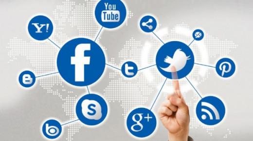 El 67,4% de los usuarios de internet utiliza las redes sociales, un 0,2% menos que el año pasado