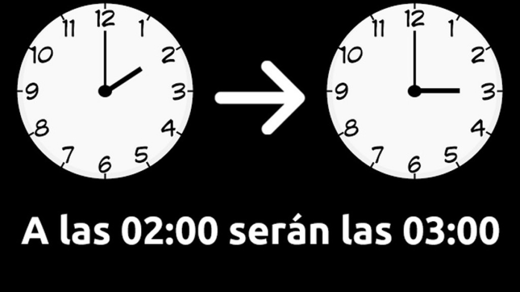 Cambio de hora.
