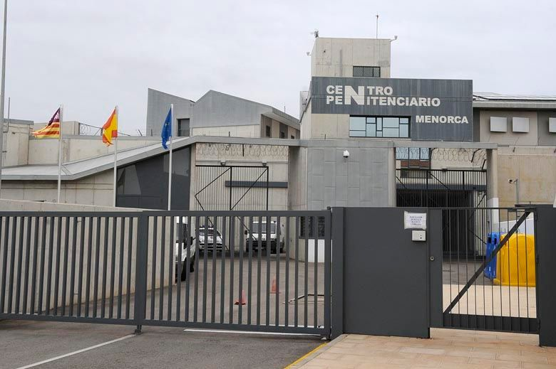 Imagen de la cárcel de Menorca, lugar en el que el padre cumple condena.