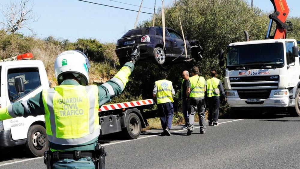 El accidente ha provocado retenciones.