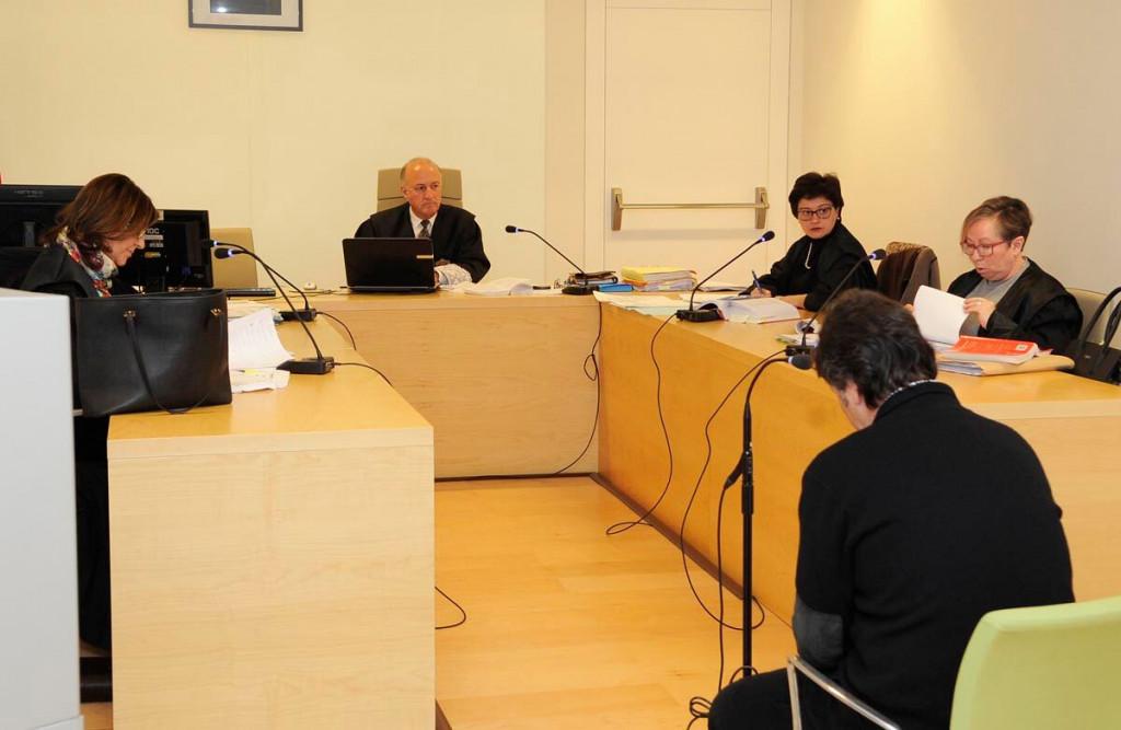 Imagen del juicio que se ha celebrado esta mañana en Maó (Foto: Tolo Mercadal)