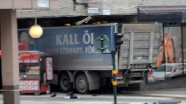 Camión atentado