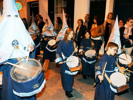 Menorca vive la pasión del Santo Entierro