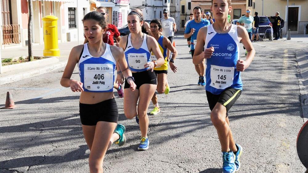 "Imagen de la carrera ""Corre Mô"" (Fotos: Tolo Mercadal)"