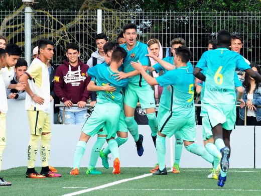 (Galería de fotos) El Arsenal se mete en dos finales y el Barça se medirá al City en cadetes