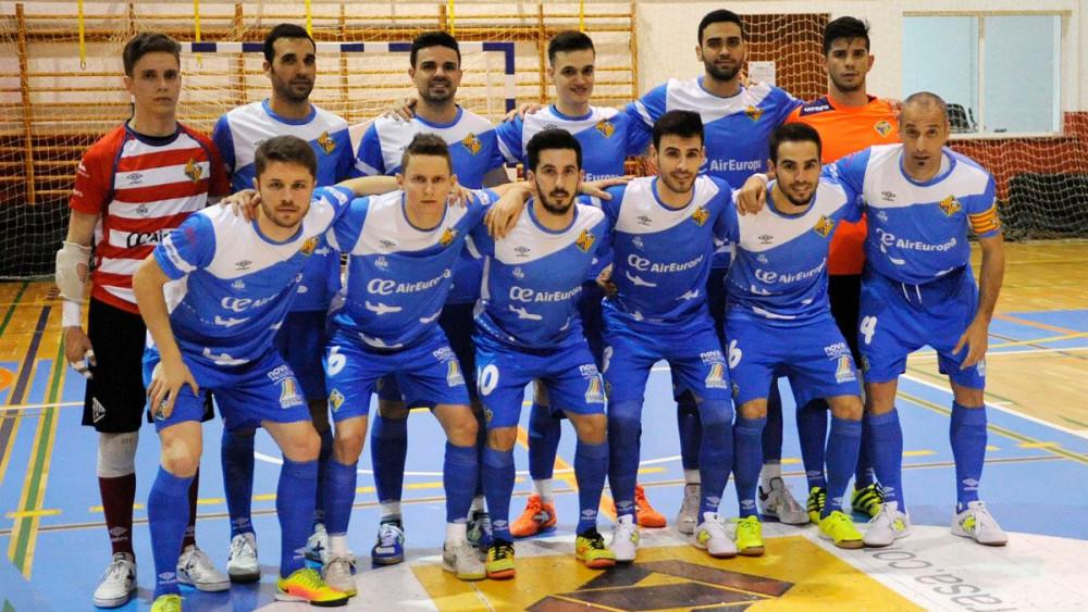 Formación del Palma Futsal.