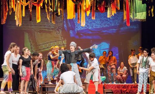 El musical se representará los próximos 11 y 12 de abril.