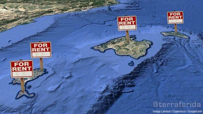 HomeAway es el portal líder, con una oferta de 160.016 plazas en las islas.