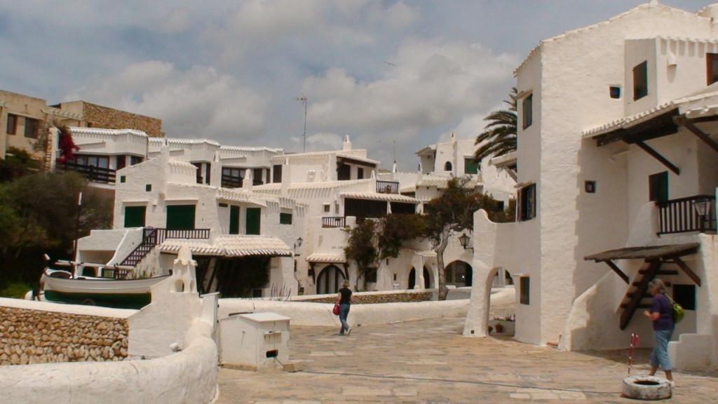 Fotografía del poblado de pescadores de Binibeca.