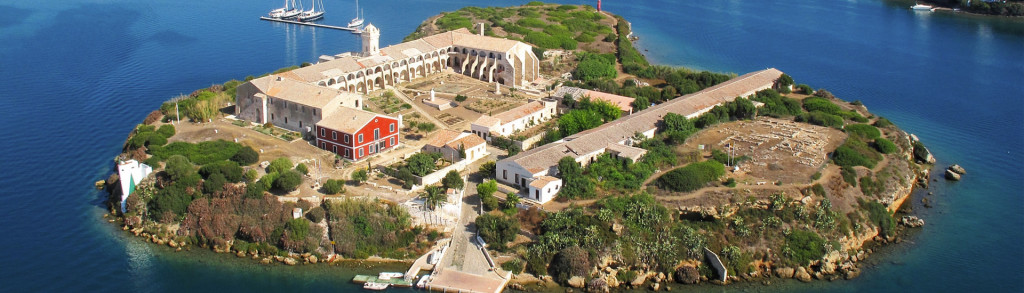 Imagen aérea de la Illa del Rei.