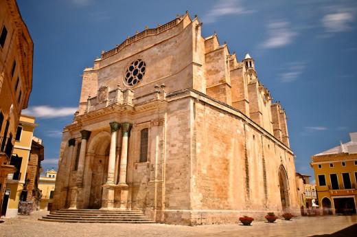 Imagen de la Catedral de Menorca