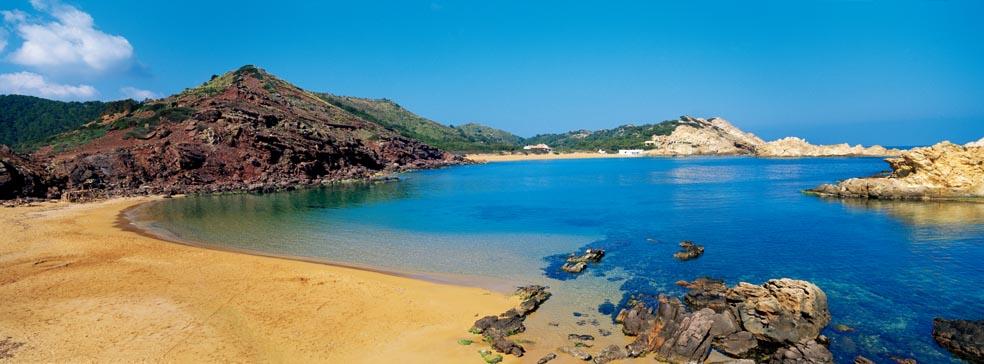 Imagen de la playa de Pregonda.