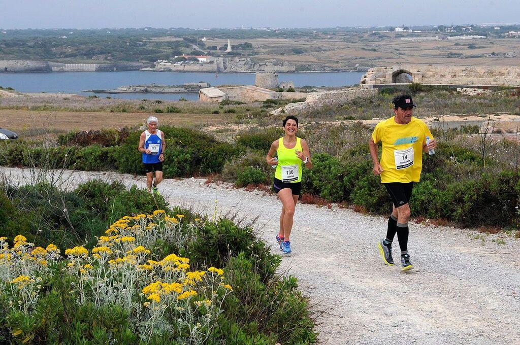 Imagen de una pasada edición de la carrera (Foto: Tolo Mercadal)