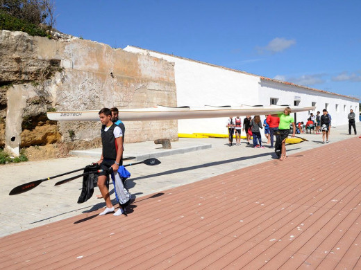 (Galería de fotos) Jornadas de tecnificación de piragüismo en Menorca