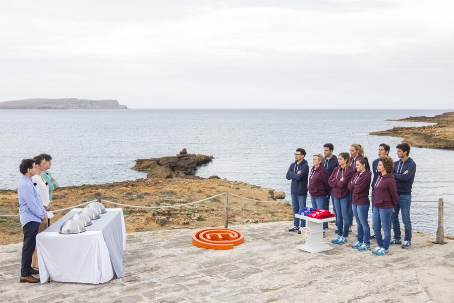 Secuencia del programa grabado en la Isla.