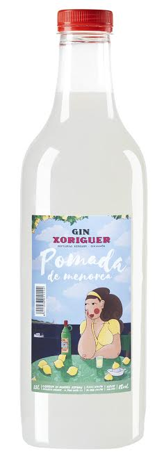 Botella PET de Pomada de Menorca.