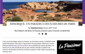 Extracto del artículo de Le Parisien.