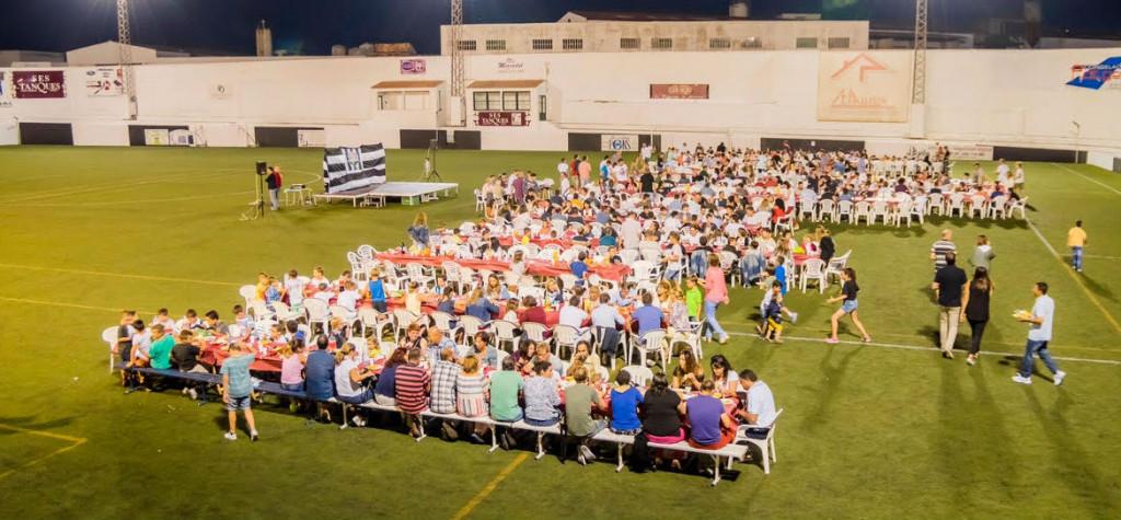 Vista general del evento organizado en Los Pinos (Foto: CE Alaior)